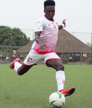 WAFA midfielder, Michael Kyei Dwamena