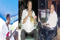 Stan Nii Nyan Plange , Malek Crayem and Pa Akrashie