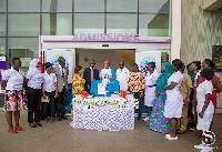 Second Lady, Mrs. Samira Bawumia donates to Greater Accra Regional Hospital at Ridge