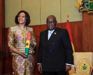 Jean Mensa and Nana Akufo-Addo