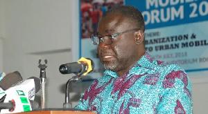 Kwaku Ofori Asiamah  Transport Minister