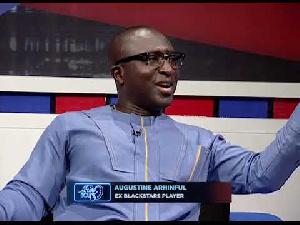 Former Ghana international Augustine Arhinful