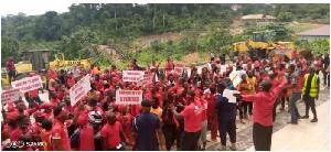 File photo of demonstrators