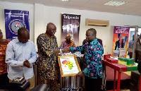 Osu Mantse, Nii Kinka Dowuona was there to lend his support