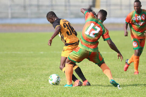 The first leg ended in a goalless draw at the Len Clay Sports Stadium on Sunday
