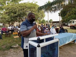 Member of Parliament for Adaklu, Mr Kwame Agbodzah