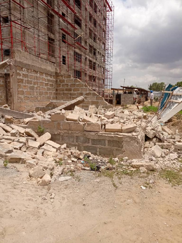 Kan-Dapaah, Jinapor's name pop in 'illegal demolition exercise at East Legon