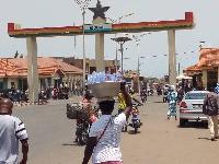 Aflao-Lome border