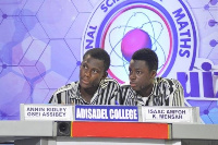 The two who handed over the bragging rights to Adisco past and present students