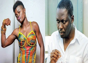 Arnold has dared Wiyaala to seek a restraining order to stop him from discussing her