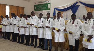 Some veterinary students