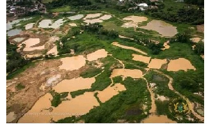GAF said people are still engaging in illegal mining in areas they have cleared