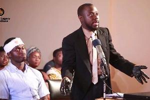 Comedian Lawyer Nti
