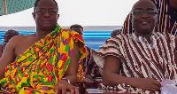 John Peter Amewu and Vice President, Dr. Mahamadu Bawumia