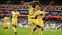 Adama Traore celebrates goal
