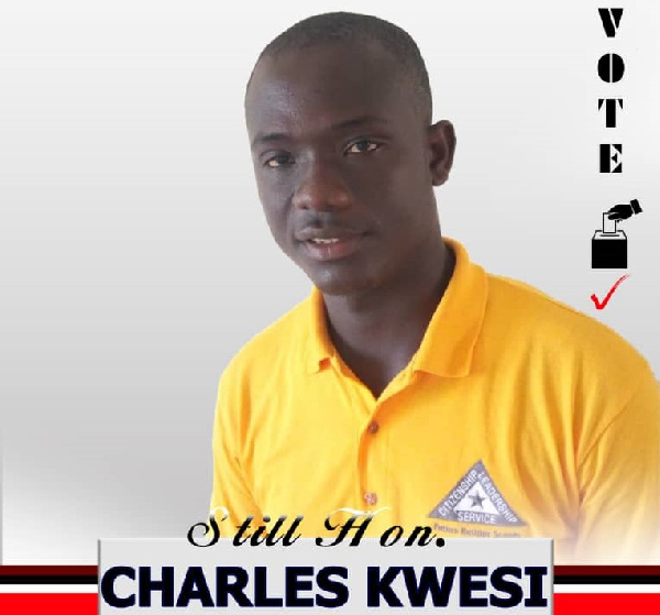 Charles Kwesi is the newly elected Assembly member for Tandan Electoral Area