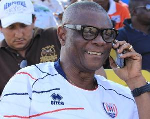 Former Ghana international Willie Klutse