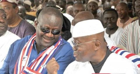 Nana Addo and Paul Afoko