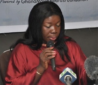 Mrs. Elizabeth Ofosu Agyare, Minister for Tourism, Culture and Creative Arts