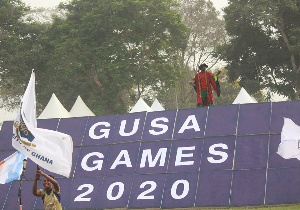 The 2020 GUSA Games is underway at the University of Ghana