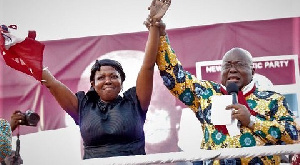 President Akufo-Addo Tuesday endorsed Lydia Alhassan as the preferred candidate for the seat