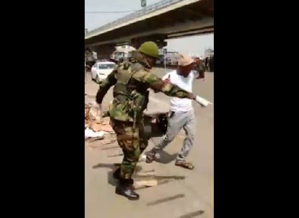 Lockdown video: Ghana Armed Forces cover up for soldiers involved in brutalities