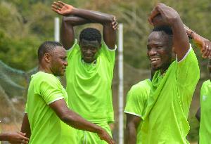 Asante Kotoko SC players