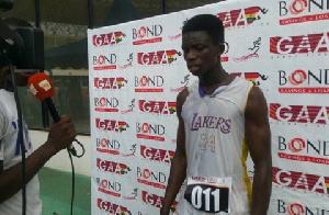 Kwame Adjei Athlete