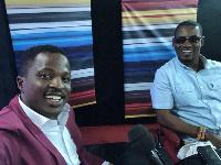 Attractive Mustapha and kwesi Ernest on Zylofon TV yesterday