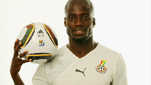 former Ghana Black Stars captain, Stephen Appiah