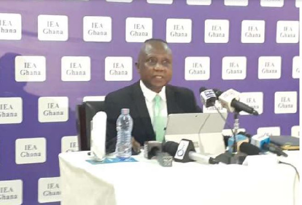 Dr John Kwakye, Director of the Institute of Economic Affairs