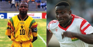 Abedi Pele and Anthony Yeboah are regarded among the best players Ghana has ever produced