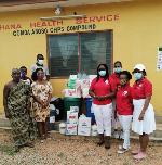 Elite Ladies Club USA donate PPEs to Gomoa Aboso CHPS