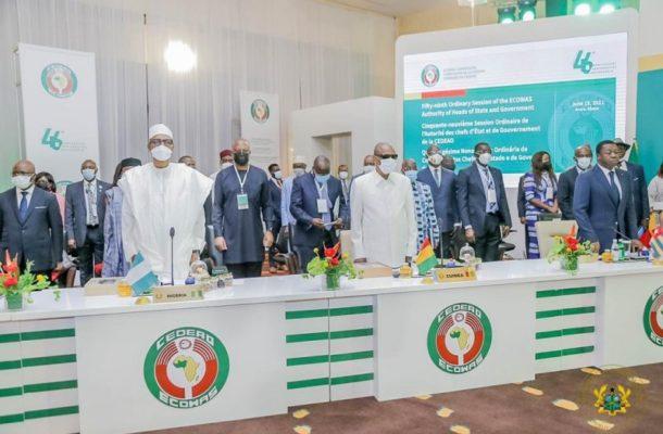 The ECOWAS leaders have met in Accra