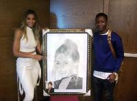 Ciara and the Nigerian student, Alesh Akeem