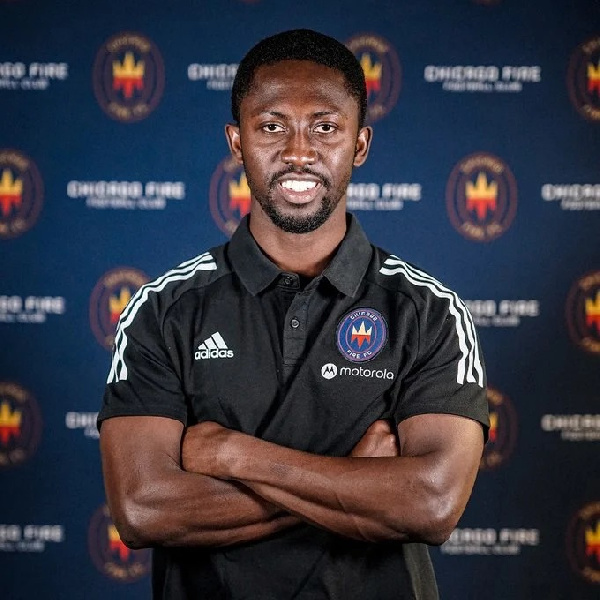 Patrick Nyarko hired as Chicago Fire's U19 assistant coach