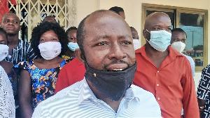 Atadana Felix, is the convenor of the protest
