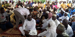 Samuel Abu Jinapor with the Muslim Community in his constituency