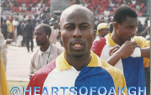Former Hearts of Oak captain Francis Bossman