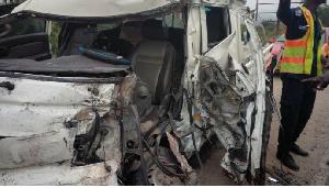 Accra Cape Coast Accident