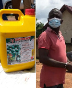 Fake AF confidence insecticide dealer- Atta Kwadwo