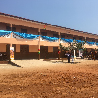 The new Aflao Border Basic School