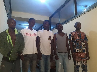 Suspected robbers