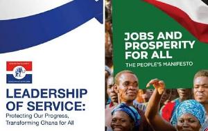 A copy of NDC, NPP' manifesto
