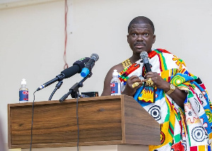 President of the Juaben Traditional Council, Daasebre Professor (Emeritus) Oti Boateng