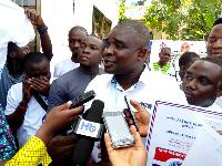 Aspiring National Youth Organiser of the NPP, Kamal-Deen Abdulai