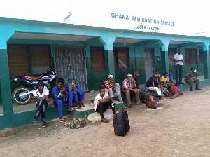 The 10 foreigners used unapproved roots to enter Ghana