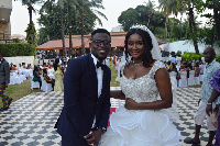 Gershon Koffie marries for Guinean beauty queen