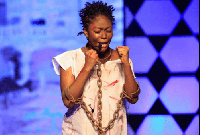 GMB contestant Edith Arthur popularly known as Kwansema