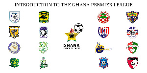 There are eighteen clubs in the Ghana Premier League